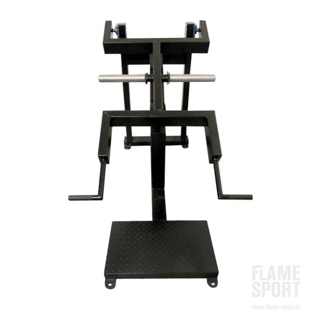 Trapezmuskelmaschiene (3G), stehend