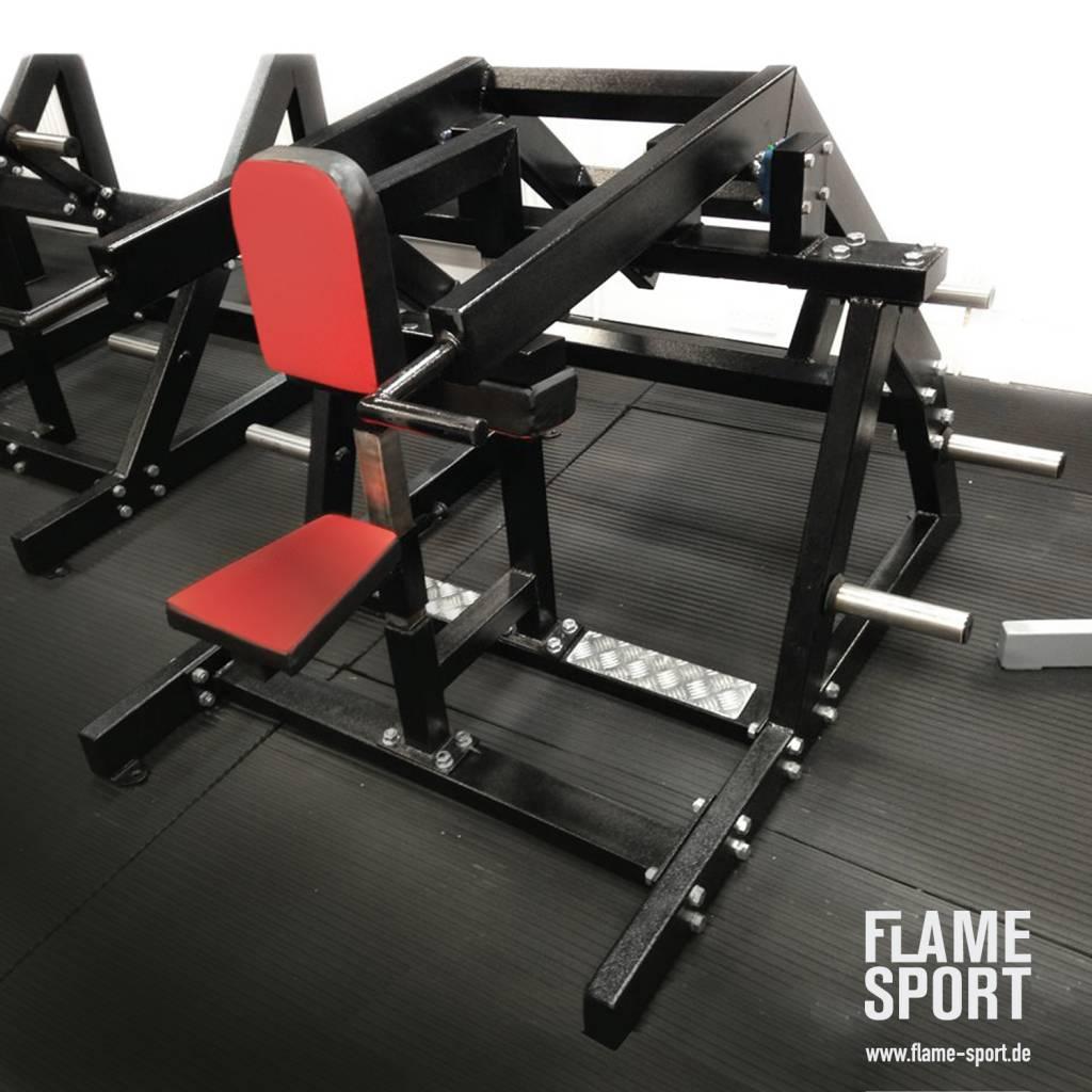 Trizepsmaschine (6K) Dips im Sitzen, mit verstellbare Sitztiefe