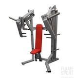 Brustpressmaschine & Schulterpresse (6AXXP), sitzend mit verstellbarer Sitztiefe