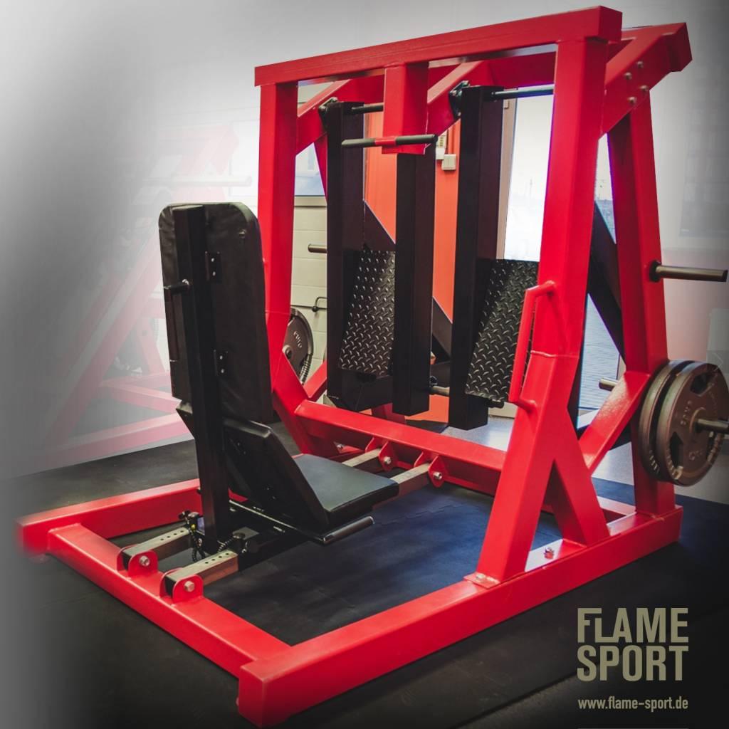 Leg Press (4D), horizontal