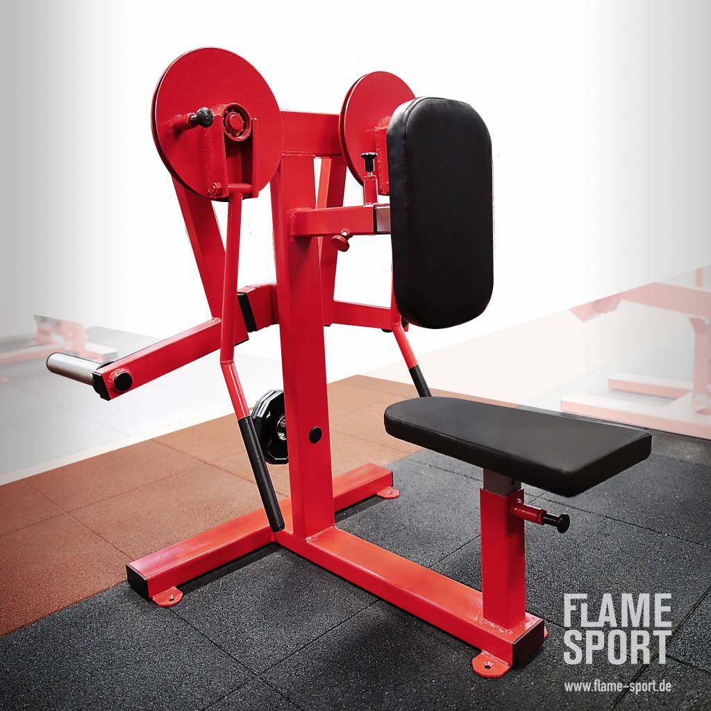 Lateral Shoulder Raise Machine (3PX), Plate loaded