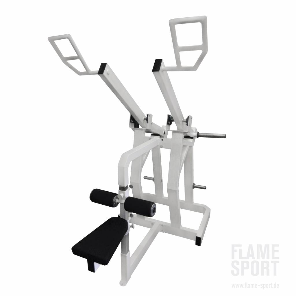 Lat Pulldown (8LX), Plate loaded