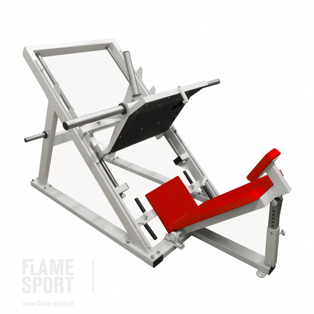 Leg Press Machine (2D)