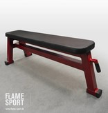 Flat Bench (1J), with transport wheels