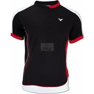 Victor Victor Team T-shirt Unisex Black 6855