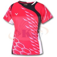 Victor Shirt National Female red 6295