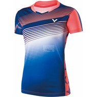 Victor Shirt Female Malaysia Blue 6337