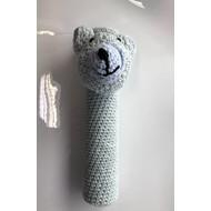 KW FLEX Shuttlecock Mascotte Bear Grey