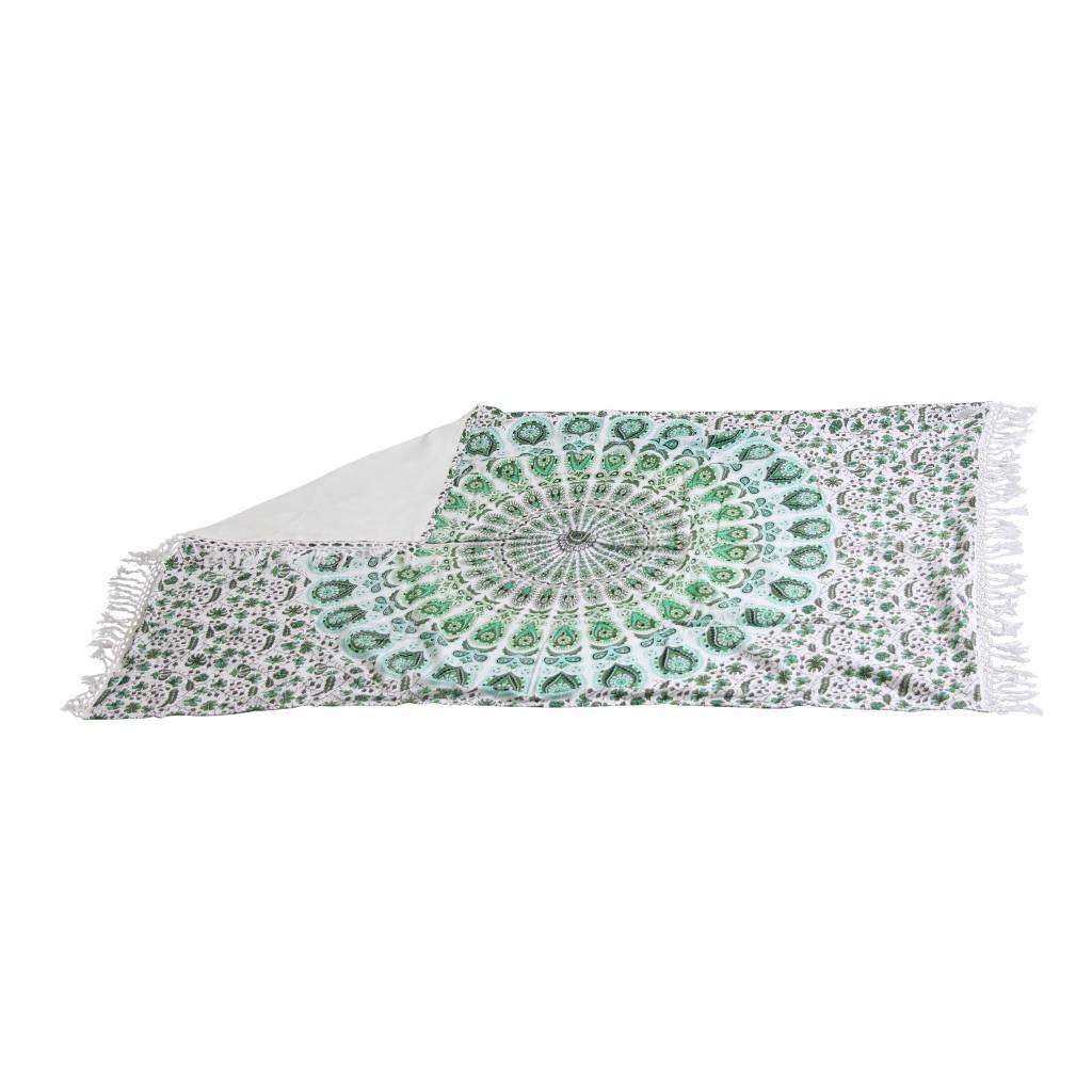 Myroundie Myroundie – roundie – badstof strandlaken XL  – 100% katoen – 140x220 cm – 772