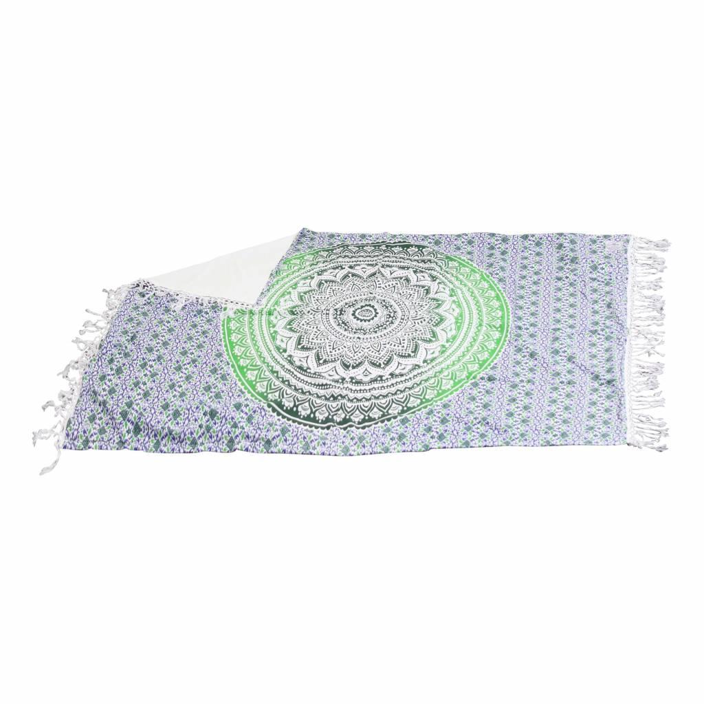 Myroundie Myroundie – roundie – badstof strandlaken XL  – 100% katoen – 140x220 cm – 775