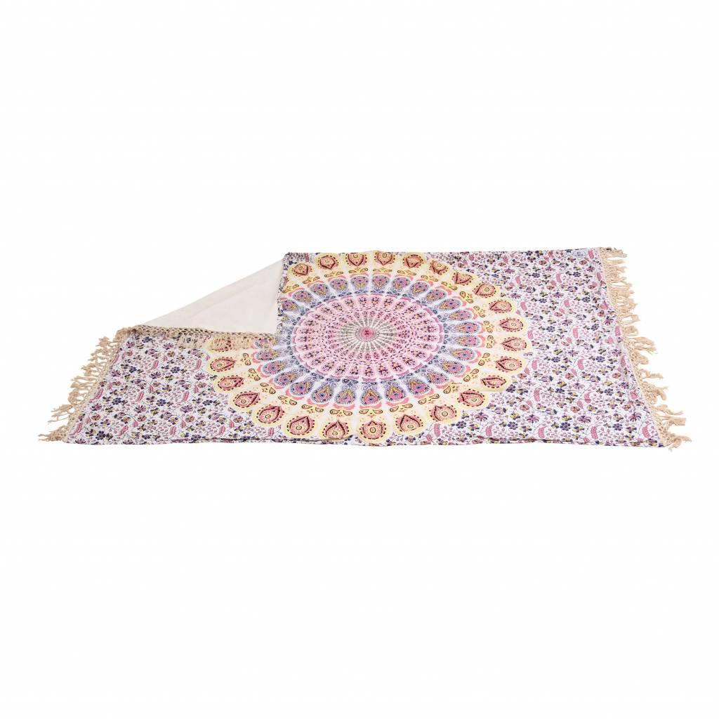 Myroundie Myroundie – roundie – badstof strandlaken XL  – 100% katoen – 140x220 cm – 757