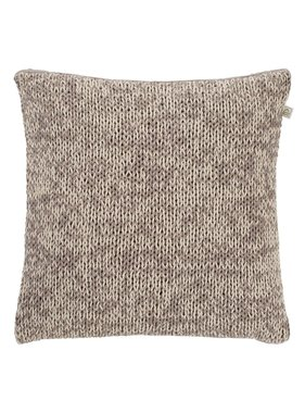 dutch decor sierkussens & plaids Kussenhoes  Emma 45x45 cm taupe