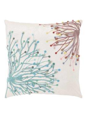 dutch decor sierkussens & plaids Kussenhoes  Eppo 45x45 cm roze