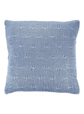 dutch decor sierkussens & plaids Kussenhoes  Erica 45x45 cm denim