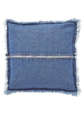dutch decor sierkussens & plaids Kussenhoes  Jurre 45x45 cm blauw