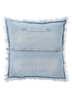 dutch decor sierkussens & plaids Kussenhoes  Nisha 45x45 cm blauw