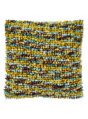 dutch decor sierkussens & plaids Kussenhoes  Noble 45x45 cm bruin