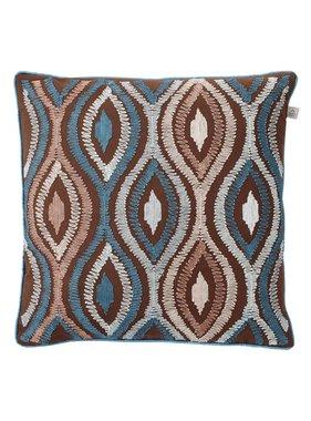 dutch decor sierkussens & plaids Kussenhoes  Ormose 45x45 cm bruin