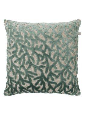 dutch decor sierkussens & plaids Kussenhoes  Rema 45x45 cm groen