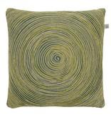 dutch decor sierkussens & plaids kussenhoes Rolga 45x45 cm groen