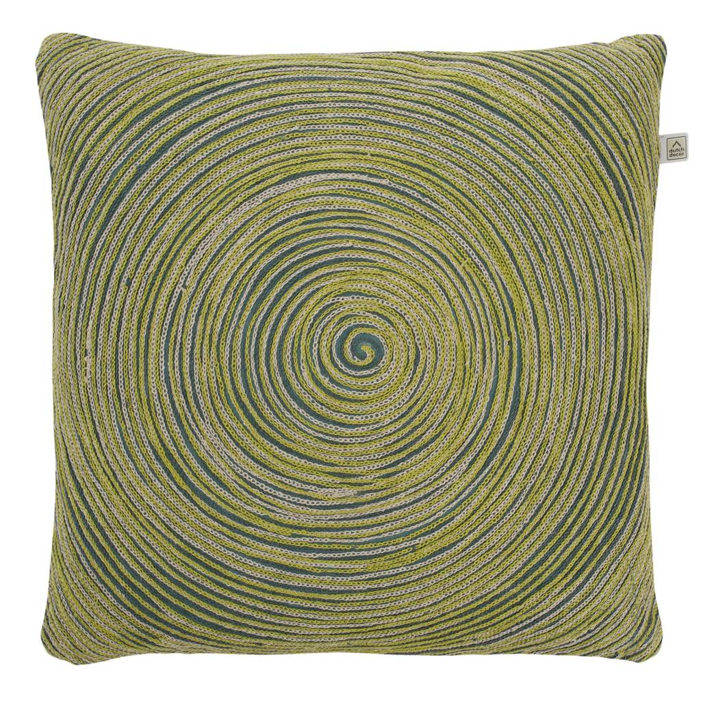 kussenhoes Rolga 45x45 cm groen