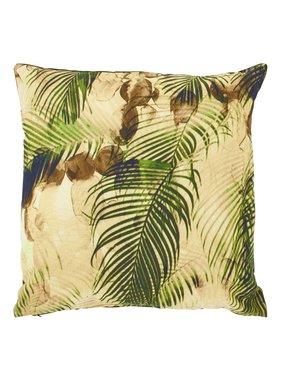 dutch decor sierkussens & plaids Kussenhoes  Saerens 45x45 cm groen