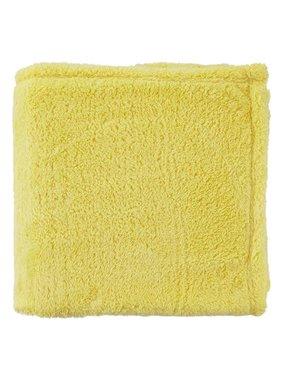 dutch decor sierkussens & plaids Plaid Fleece 130x180 cm geel