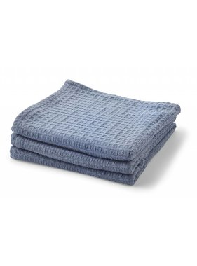 dutch decor sierkussens & plaids Plaid Intra 130x180 cm denim
