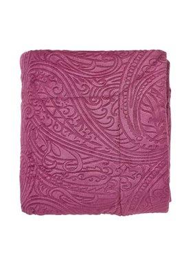 dutch decor sierkussens & plaids Plaid Odorata 130x180 cm paars