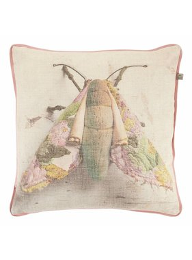 dutch decor sierkussens & plaids Sierkussen / sierkussens Fang 45x45 cm oud roze