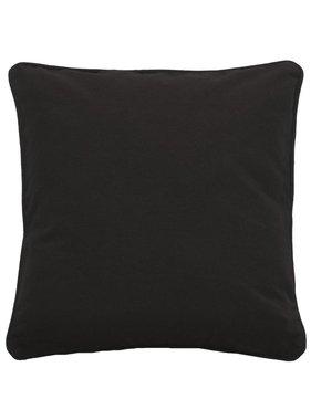 dutch decor sierkussens & plaids Sierkussen / sierkussens Java 70x70 cm zwart