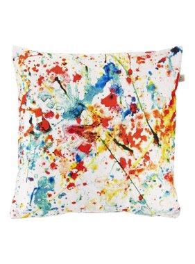dutch decor sierkussens & plaids Sierkussen / sierkussens Makis 45x45 cm rood