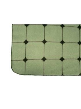 pt, Fleece deken Tiles grayed jade