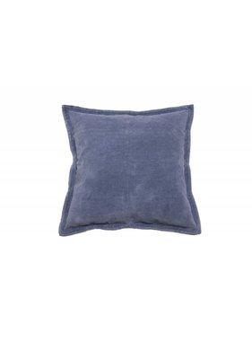 Walra Sierkussen / sierkussens Flinn 45x45 cm blauw