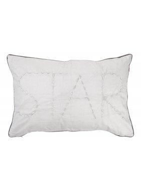 dutch decor sierkussens & plaids Kussenhoes  Borgha 40x60 cm licht grijs