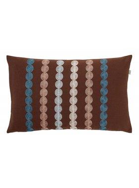 dutch decor sierkussens & plaids Kussenhoes  Fonta 30x50 cm bruin