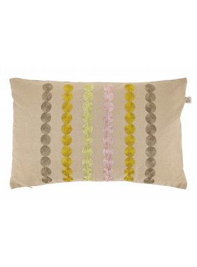 dutch decor sierkussens & plaids Kussenhoes  Fonta 30x50 cm zand
