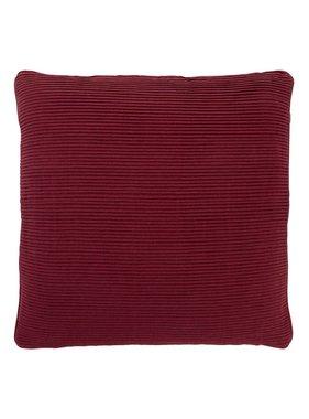dutch decor sierkussens & plaids Kussenhoes  Klune 45x45 cm bordeaux