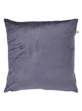 dutch decor sierkussens & plaids Kussenhoes  Krone 45x45 cm blauw