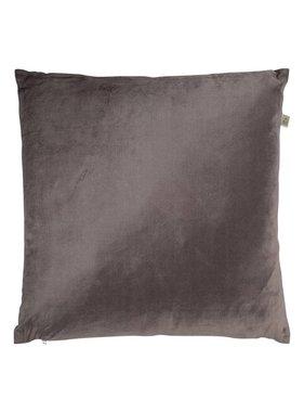 dutch decor sierkussens & plaids Kussenhoes  Krone 45x45 cm donkergrijs