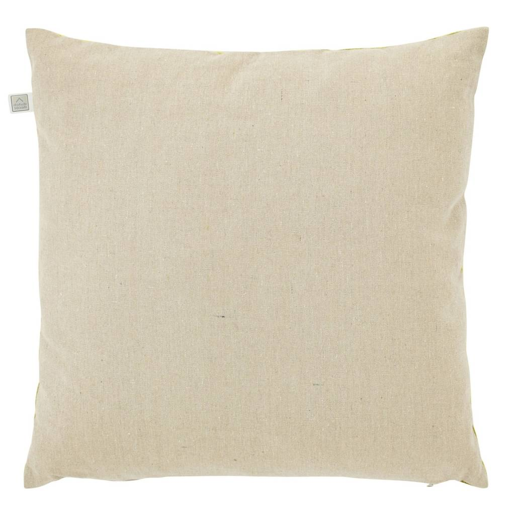 dutch decor sierkussens & plaids kussenhoes Krone 45x45 cm lime