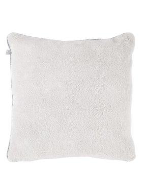 dutch decor sierkussens & plaids Kussenhoes  Micro 70x70 cm licht grijs