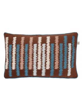 dutch decor sierkussens & plaids Kussenhoes  Orin 30x50 cm bruin