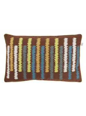 dutch decor sierkussens & plaids Kussenhoes  Orin 30x50 cm groen