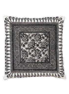 dutch decor sierkussens & plaids Kussenhoes  Ranfurly 45x45 cm zwart