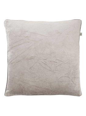 dutch decor sierkussens & plaids Kussenhoes  Scandra 45x45 cm grijs