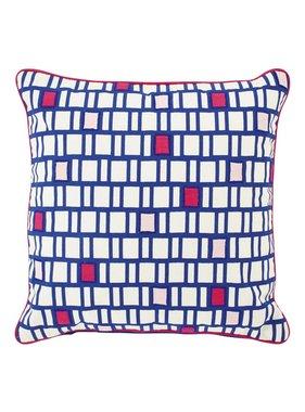 dutch decor sierkussens & plaids Kussenhoes  Xarpa 45x45 cm blauw