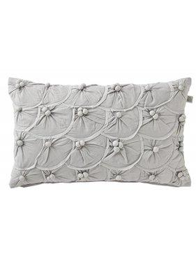 dutch decor sierkussens & plaids Kussenhoes  Yentl 30x50 cm grijs