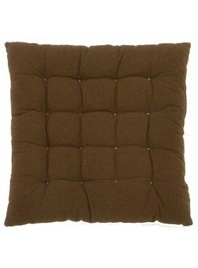 dutch decor sierkussens & plaids Tuinkussen Java 45x45 cm bruin