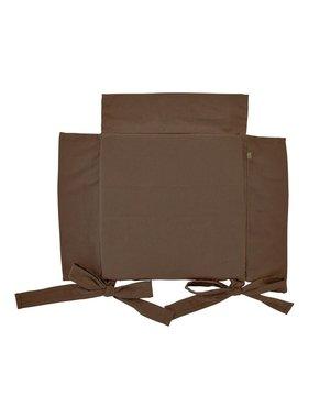 dutch decor sierkussens & plaids Tuinkussen  40 x40 cm Java bruin